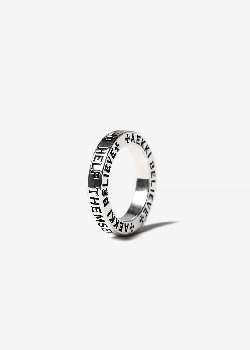 #BELIEVE RING_Small